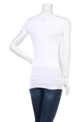 Дамска тениска G-Star Raw, Размер S, Цвят Бял, 95% памук, 5% еластан, Цена 21,84лв.
