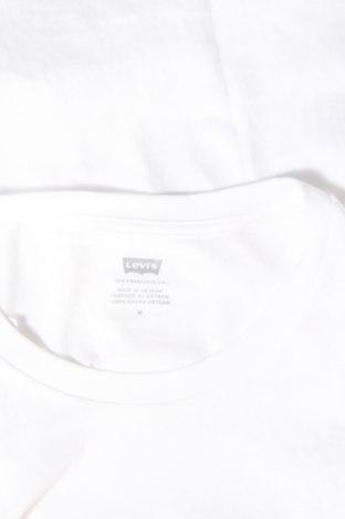 Дамска тениска Levi's, Размер M, Цвят Бял, Памук, Цена 40,56лв.