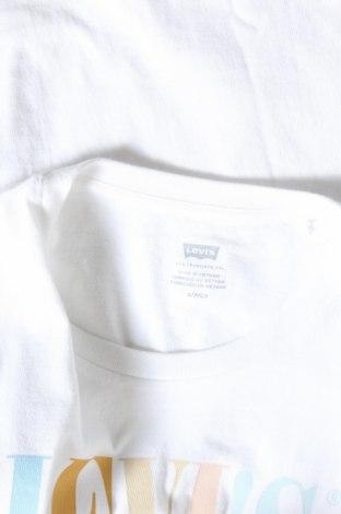 Дамска тениска Levi's, Размер S, Цвят Бял, Памук, Цена 37,44лв.