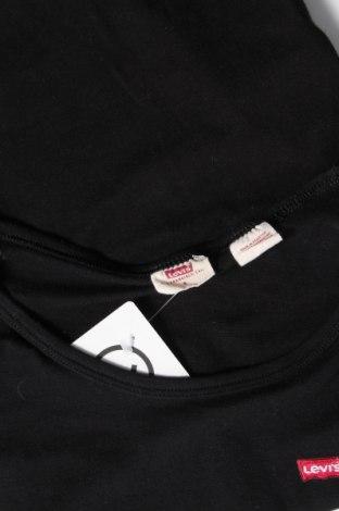 Дамска тениска Levi's, Размер S, Цвят Черен, 96% памук, 4% еластан, Цена 44,25лв.