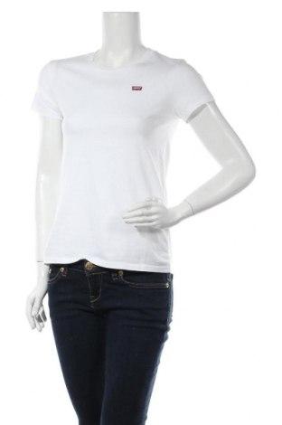 Дамска тениска Levi's, Размер XS, Цвят Бял, Памук, Цена 46,02лв.