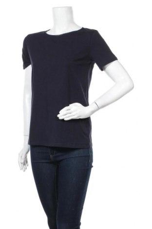 Дамска тениска Max Mara, Размер M, Цвят Син, 95% памук, 5% еластан, Цена 130,67лв.