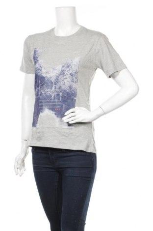 Дамска тениска Nakedshirt, Размер S, Цвят Сив, Памук, Цена 16,00лв.