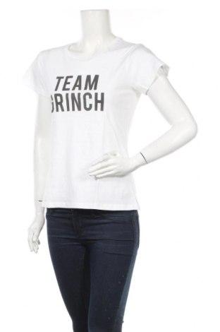 Дамска тениска Nakedshirt, Размер M, Цвят Бял, 100% памук, Цена 21,06лв.