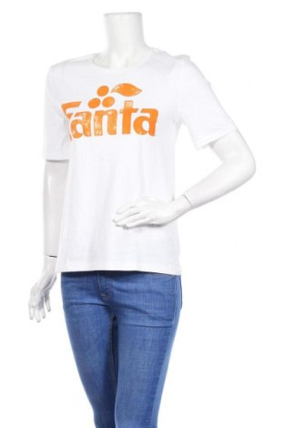 Дамска тениска ONLY, Размер S, Цвят Бял, Памук, Цена 14,50лв.
