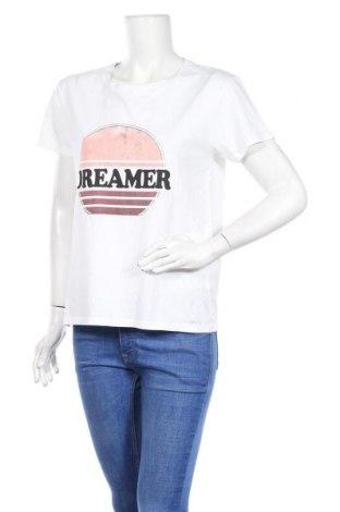 Дамска тениска Set, Размер S, Цвят Бял, Памук, Цена 61,62лв.