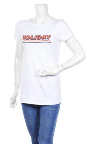 Γυναικείο t-shirt Supermom, Μέγεθος S, Χρώμα Λευκό, 95% βαμβάκι, 5% ελαστάνη, Τιμή 12,37€