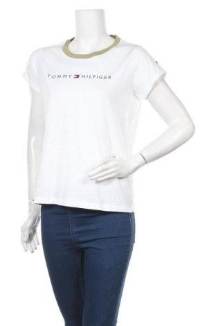 Дамска тениска Tommy Hilfiger, Размер S, Цвят Бял, Памук, Цена 59,25лв.
