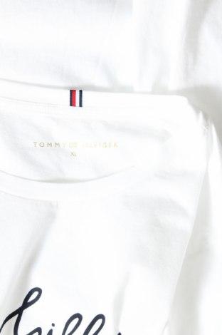 Дамска тениска Tommy Hilfiger, Размер XL, Цвят Бял, Памук, Цена 57,00лв.