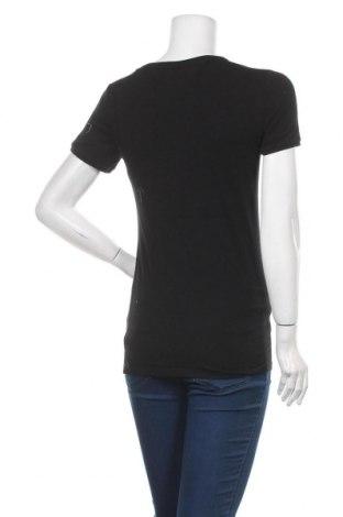 Дамска тениска Tommy Hilfiger, Размер S, Цвят Черен, 95% памук, 5% еластан, Цена 60,80лв.