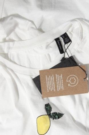 Дамска тениска Vero Moda, Размер S, Цвят Бял, Памук, Цена 23,20лв.