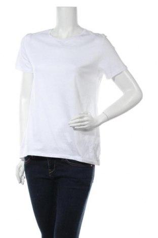 Дамска тениска Zara, Размер S, Цвят Бял, Памук, Цена 23,20лв.