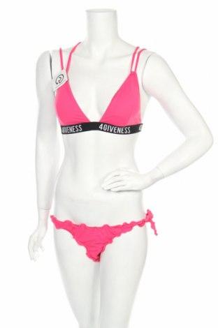 Дамски бански 4giveness, Размер L, Цвят Розов, 86% полиамид, 16% еластан, Цена 19,75лв.