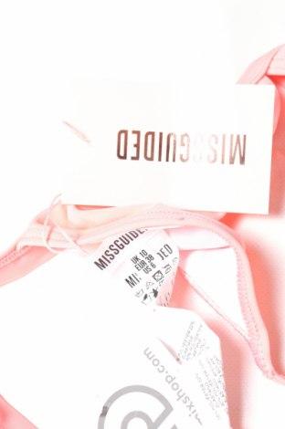 Дамски бански Missguided, Размер M, Цвят Розов, 78% полиестер, 22% еластан, Цена 11,20лв.