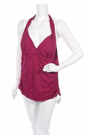 Дамски бански Ralph Lauren, Размер XXL, Цвят Лилав, 85% полиамид, 15% еластан, Цена 85,68лв.