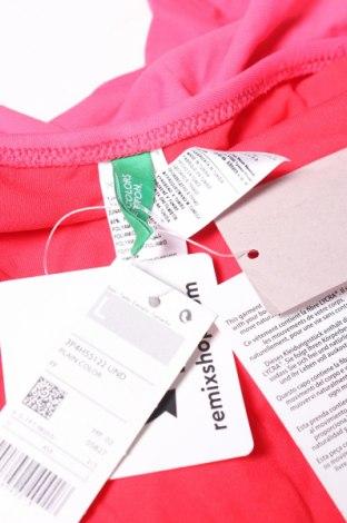 Дамски бански United Colors Of Benetton, Размер L, Цвят Розов, 90% полиамид, 10% еластан, Цена 14,52лв.