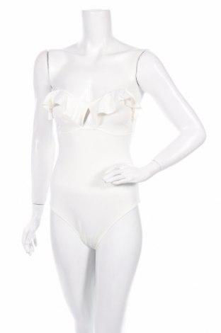 Дамски бански Women'secret, Размер M, Цвят Бял, 87% полиамид, 13% еластан, Цена 37,96лв.