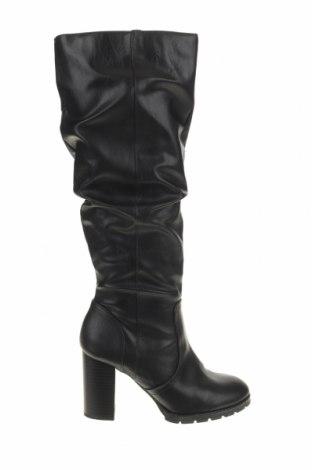 Γυναικείες μπότες Bata, Μέγεθος 37, Χρώμα Μαύρο, Δερματίνη, Τιμή 29,26€