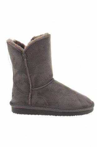 Γυναικείες μπότες Blackfield, Μέγεθος 36, Χρώμα Γκρί, Κλωστοϋφαντουργικά προϊόντα, Τιμή 11,47€