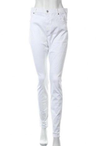 Дамски дънки Dr. Denim, Размер XL, Цвят Бял, 98% памук, 2% еластан, Цена 40,88лв.