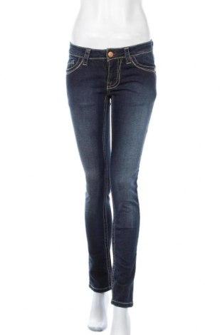 Дамски дънки, Размер XS, Цвят Син, 98% памук, 2% еластан, Цена 13,23лв.