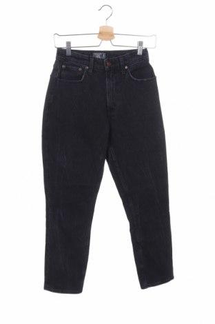Γυναικείο Τζίν Abercrombie & Fitch, Μέγεθος XS, Χρώμα Μαύρο, 99% βαμβάκι, 1% ελαστάνη, Τιμή 19,49€