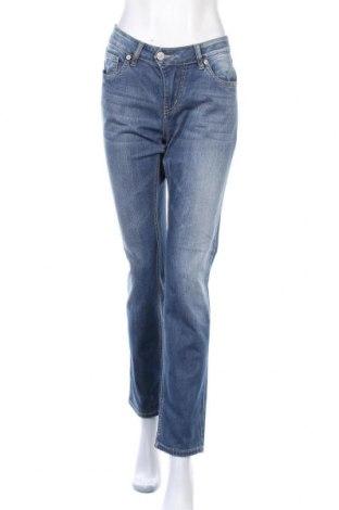 Дамски дънки Blue Monkey, Размер L, Цвят Син, 98% памук, 2% еластан, Цена 19,64лв.
