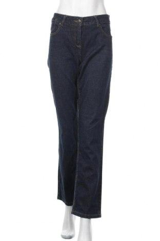 Дамски дънки Blue Motion, Размер L, Цвят Син, 98% памук, 2% еластан, Цена 17,64лв.