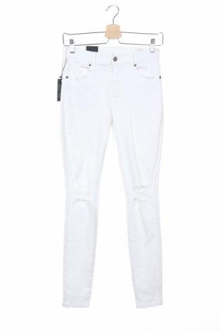 Дамски дънки Dr. Denim, Размер M, Цвят Бял, 98% памук, 2% еластан, Цена 33,58лв.