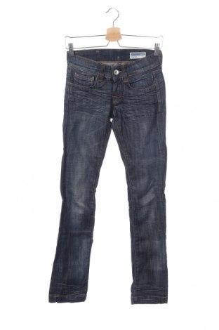Дамски дънки Fornarina, Размер XS, Цвят Син, 98% памук, 2% еластан, Цена 12,56лв.