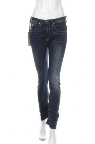 Дамски дънки G-Star Raw, Размер M, Цвят Син, 99% памук, 1% еластан, Цена 42,12лв.