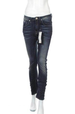 Дамски дънки G-Star Raw, Размер M, Цвят Син, 99% памук, 1% еластан, Цена 39,31лв.