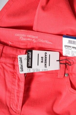 Дамски дънки Gerry Weber, Размер M, Цвят Червен, 98% памук, 2% еластан, Цена 40,05лв.