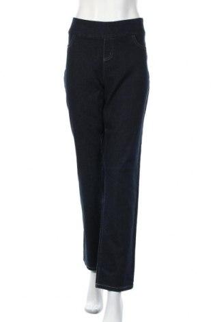 Γυναικείο Τζίν Katies, Μέγεθος XL, Χρώμα Μπλέ, Βαμβάκι, πολυεστέρας, ελαστάνη, Τιμή 15,59€