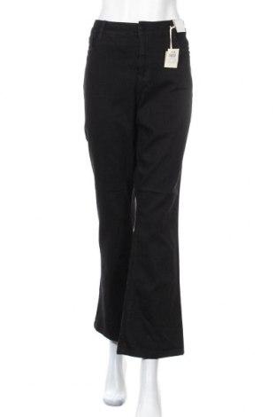 Γυναικείο Τζίν Katies, Μέγεθος XL, Χρώμα Μαύρο, Βαμβάκι, πολυεστέρας, ελαστάνη, Τιμή 32,73€