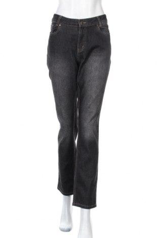 Дамски дънки Michele Boyard, Размер XL, Цвят Сив, 71% памук, 27% полиестер, 2% еластан, Цена 19,11лв.
