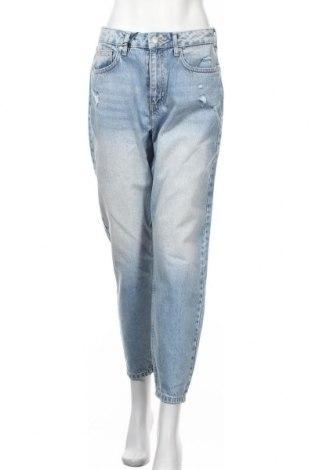 Дамски дънки Miss Selfridge, Размер M, Цвят Син, Памук, Цена 40,32лв.