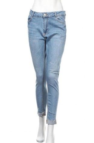 Γυναικείο Τζίν Pimkie, Μέγεθος L, Χρώμα Μπλέ, 99% βαμβάκι, 1% ελαστάνη, Τιμή 16,89€