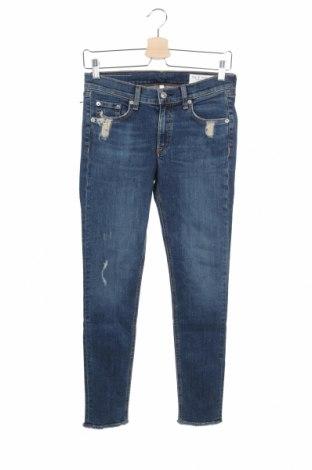 Γυναικείο Τζίν Rag & Bone, Μέγεθος S, Χρώμα Μπλέ, 98% βαμβάκι, 2% πολυουρεθάνης, Τιμή 110,29€