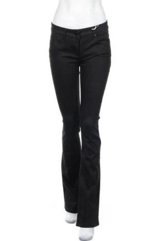Дамски дънки Stefanel, Размер S, Цвят Черен, 96% памук, 4% еластан, Цена 28,28лв.