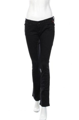 Дамски дънки Tally Weijl, Размер M, Цвят Син, 98% памук, 2% еластан, Цена 27,30лв.