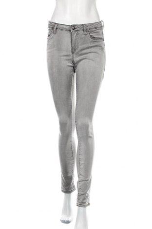 Дамски дънки Tom Tailor, Размер M, Цвят Сив, 51% полиестер, 47% лиосел, 2% еластан, Цена 18,00лв.