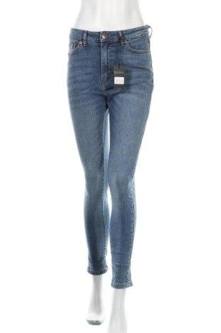 Дамски дънки Urban Classics, Размер S, Цвят Син, 98% памук, 2% еластан, Цена 39,42лв.