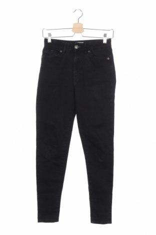 Дамски дънки Urban Classics, Размер XS, Цвят Черен, 98% памук, 2% еластан, Цена 37,96лв.