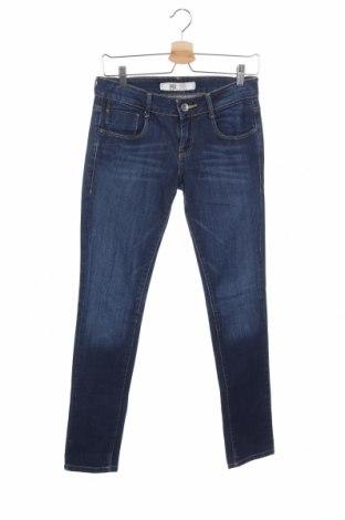 Дамски дънки Zara Trafaluc, Размер M, Цвят Син, Цена 28,35лв.