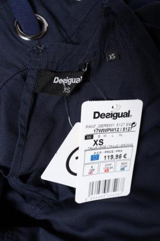 Дамски гащеризон Desigual, Размер XS, Цвят Син, Лиосел, Цена 31,80лв.