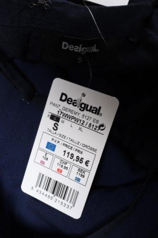 Γυναικεία σαλοπέτα Desigual, Μέγεθος S, Χρώμα Μπλέ, Lyocell, Τιμή 35,24€