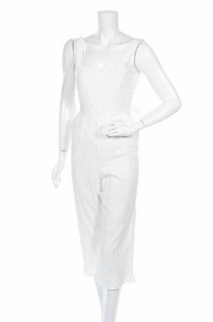 Дамски гащеризон Miss Selfridge, Размер XS, Цвят Бял, Цена 31,60лв.