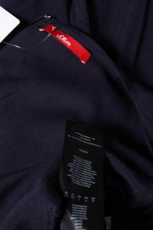 Γυναικεία σαλοπέτα S.Oliver, Μέγεθος L, Χρώμα Μπλέ, Βισκόζη, Τιμή 29,44€