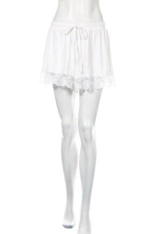 Γυναικείο κοντό παντελόνι ASOS, Μέγεθος M, Χρώμα Λευκό, 95% βισκόζη, 5% ελαστάνη, Τιμή 11,58€